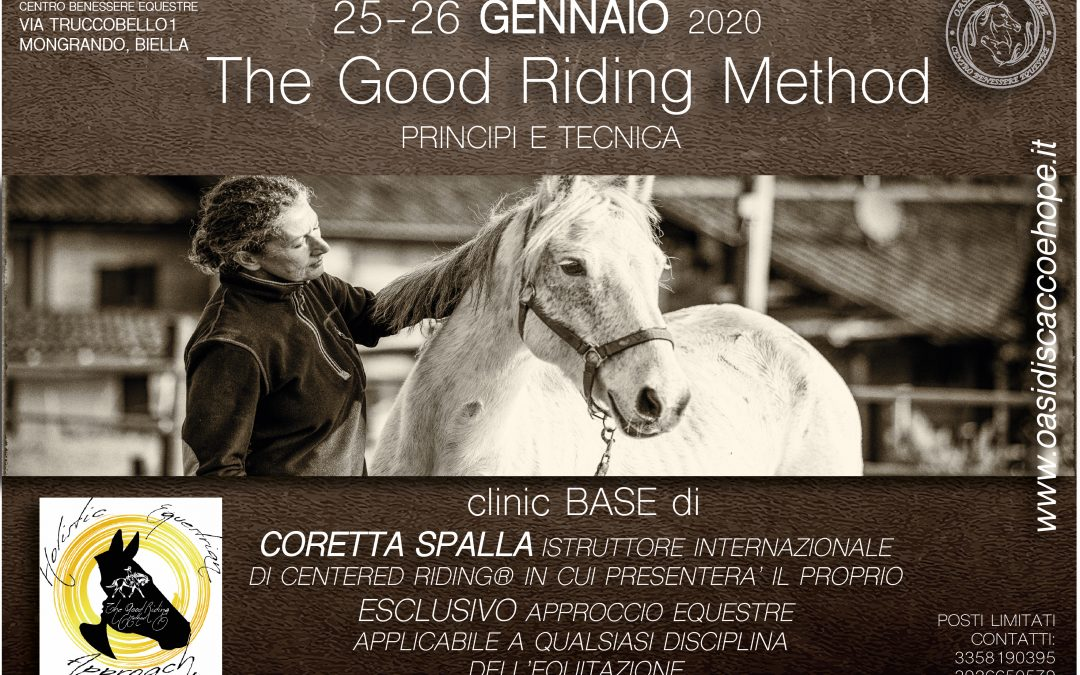 "CLINIC BASE ""THE GOOD RIDING method"""